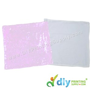 Cushion Cover (Square) (Sparkling Rainbow) (40 X 40cm)