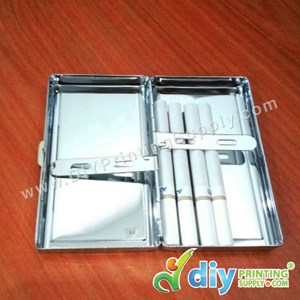 Cigarette Case (Silver) (103 X 82mm)