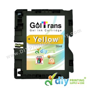 Geltrans Gel Ink Cartridge (Yellow) (30Ml)