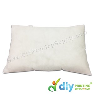 Cushion Pillow (Inner) (Rectangle) (350G) [Comfy Soft] (30 X 45cm)