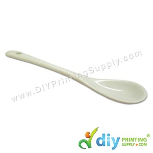 Ceramic Spoon (White)