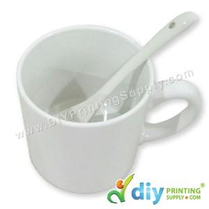 Ceramic Spoon (White)