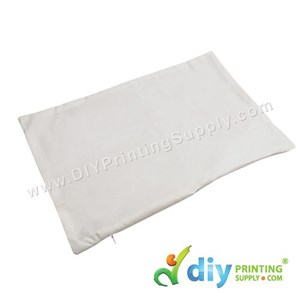 Cushion Cover (Rectangle) (White) (30 X 45cm)