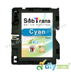Subtrans Gel Ink Cartridge (Cyan) (30Ml)