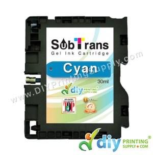 Subtrans Gel Ink Cartridge (Cyan) (30Ml)