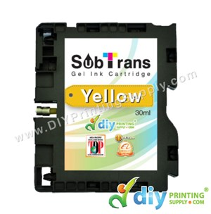 Subtrans Gel Ink Cartridge (Yellow) (30Ml)