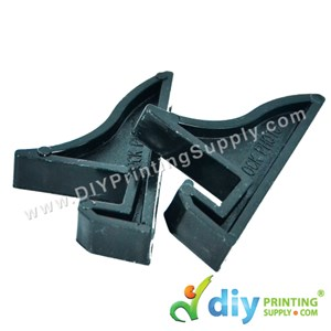 Ceramic Tile Stand (Holder) (Black) (2 Pcs/Pkt) (8 X 4.4cm)