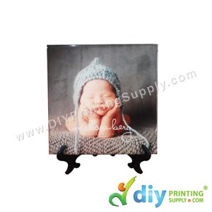 Ceramic Tile Stand (Small) (Plastic) (Black) (10 X 15cm)