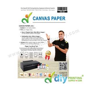 Canvas Paper (A3) (10 Sheets/Pkt)