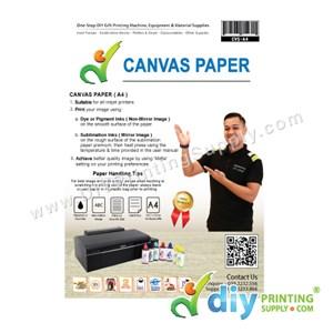 Canvas Paper (A4) (10 Sheets/Pkt)