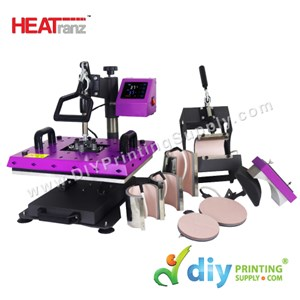 Digital Combo Heat Press (Europe) (Heatranz PRO) (38 X 30cm) [A4] [LED Controller With Extra Heat Protection]