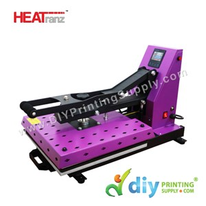 Digital Flat Heat Press (Europe) (Heatranz PRO+) (38 X 38cm) (Semi-Auto With Magnetic) [A4] [LED Controller With Extra Heat Protection]