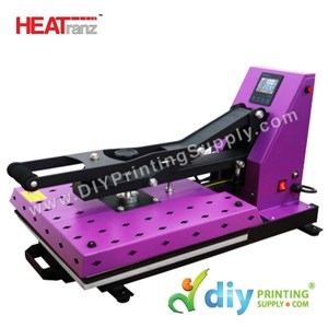 Digital Flat Heat Press (Europe) (Heatranz PRO+) (50 X 40cm) (Semi-Auto With Magnetic) [A3] [LED Controller With Extra Heat Protection]