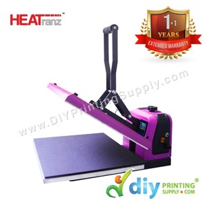 HEATranz Flat Press ECO (38 X 38cm) (Manual Clamshell) [A4]