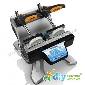 Digital Double Mug Heat Press (Europe) (Heatranz PRO+) (FREESUB) [LED Controller]