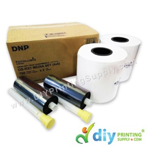 "DNP Fotolusio Ribbon & Paper 4R (4"" X 6"") (700 Prints X 2 Rolls) [For DNP-DSRX1 Only]"