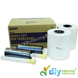 "DNP Fotolusio Ribbon & Paper 4R (4"" X 6"") (700 Prints X 2 Rolls) [High Speed]"
