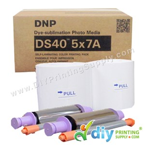 "DNP Fotolusio Ribbon & Paper 5R (5"" X 7"") (350 Prints X 2 Rolls) [For DNP-DSRX1 Only]"