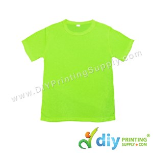 Dryfit Tee (Round Neck) (Unisex) (Full Green) (S) (160Gsm)
