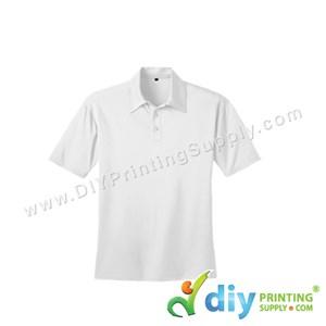 Dryfit Tee (Collar) (White) (XS) (160Gsm)