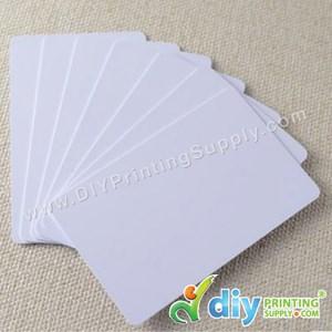 Direct-To-Print PVC Card (White) (250Pcs/Pkt) (0.76mm)
