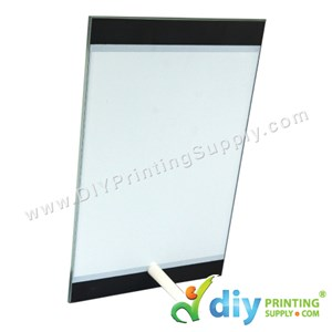 Glass Frame With Stand (5mm) (15 X 23cm)