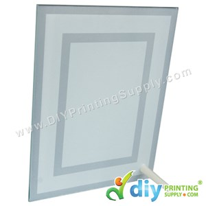 Glass Frame With Stand (5mm) (18 X 23cm)