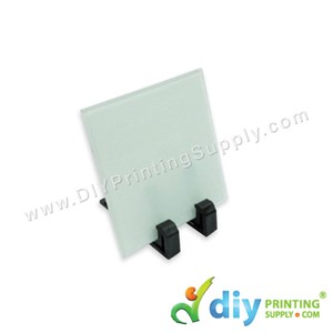 Mini Glass Frame With Stand (Square) (4mm) (10 X 10cm)