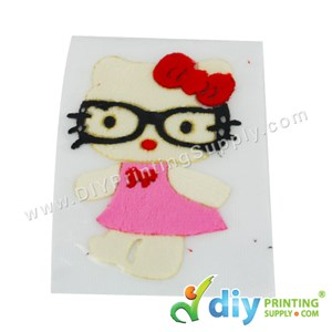 Garment Materials With Clear Transfer Tape (Hello Kitty)