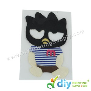 Garment Materials With Clear Transfer Tape (Penguin)
