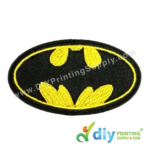 Garment Material (Badge) (95mm X 55mm) [Batman]