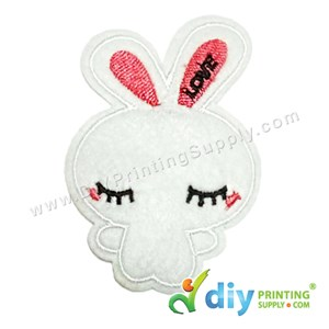 Garment Material (Cartoon) (54 X 81mm) [Bunny]