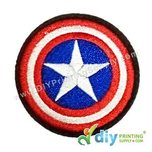 Garment Material (Badge) (56mm) [Captain America]