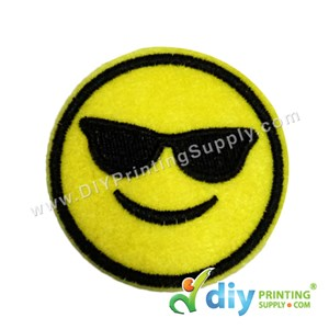 Garment Material (Smiley) (51mm) [Cool]