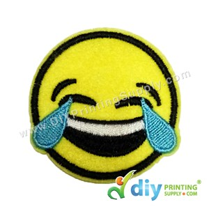 Garment Material (Smiley) (53mm X 51mm) [Crying With Laughter]
