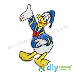 Garment Material (Disney) (57 X 80mm) [Donald Duck 2]