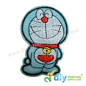 Garment Material (Doraemon) (65 X 80mm) [Smiling]