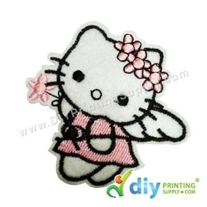 Garment Material (Hello Kitty) (73 X 70mm) [Angel]