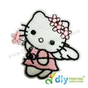 Garment Material (Hello Kitty) (73 X 70mm) [Angel]