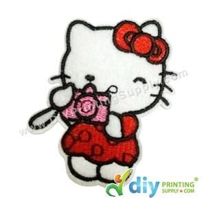 Garment Material (Hello Kitty) (65 X 80mm) [Camera]