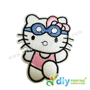 Garment Material (Hello Kitty) (65 X 75mm) [Glasses]