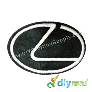 Garment Material (Sport Car) (76mm X 52mm) [Lexus]