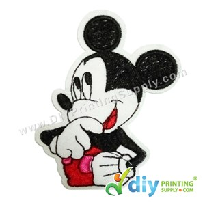 Garment Material (Disney) (53 X 82mm) [Mickey Mouse 1]