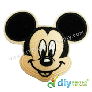 Garment Material (Disney) (90 X 80mm) [Mickey Mouse 2]