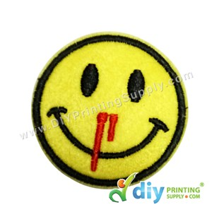 Garment Material (Smiley) (51mm) [Nosebleeds]