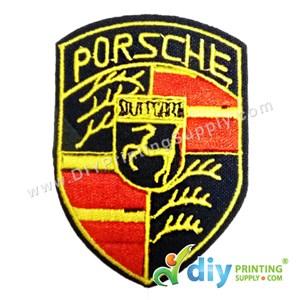 Garment Material (Sport Car) (54mm X 75mm) [Porsche]