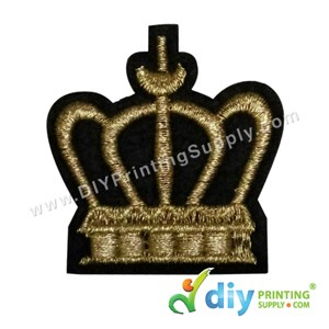 Garment Material (Badge) (50mm X 55mm) [Queen]