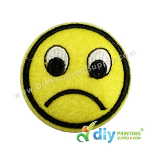 Garment Material (Smiley) (51mm) [Sad]
