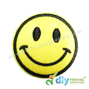 Garment Material (Smiley) (51mm) [Smiling 1]