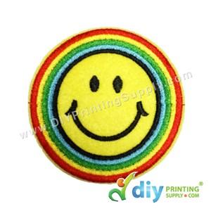 Garment Material (Smiley) (75mm) [Smiling 3]